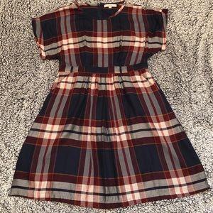 Loft midi dress (has defect)